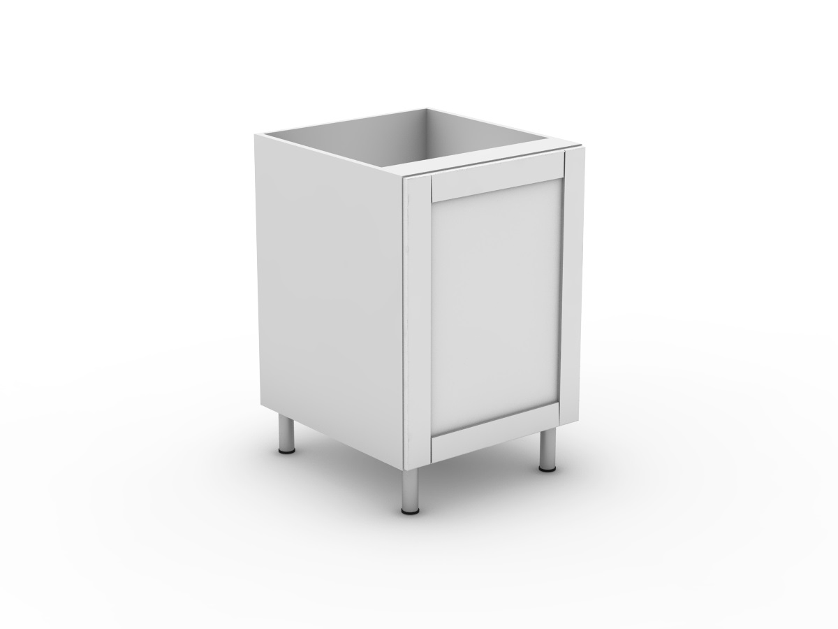 Shaker 90 degree with outer panel
