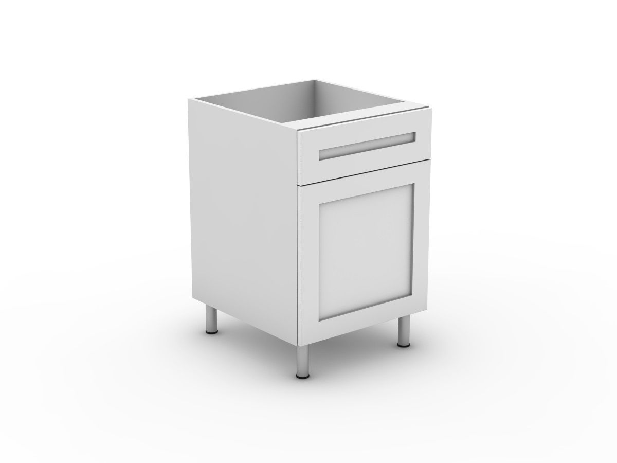 SHAKER - 1 DRAWER + 1 DOOR (B300-11MB)