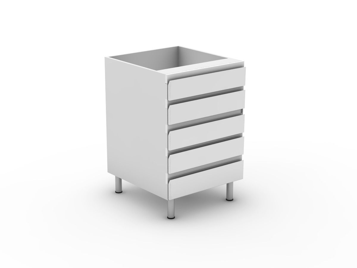 SHADOWLINE - 5 EQUAL DRAWERS (B3005EMB)