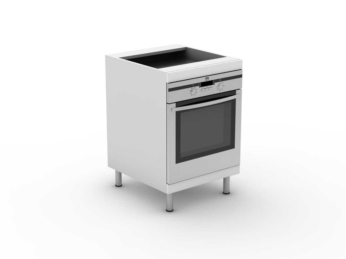 POLY DOORS -STANDARD OVEN CABINET (B600O)