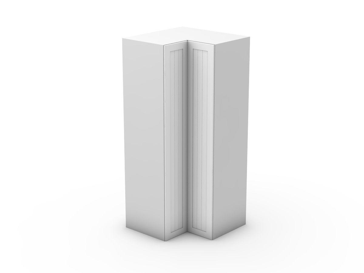 PROVINCIAL - CORNER PANTRY - BI FOLD DOORS - WALK IN (CWIP900-BF)
