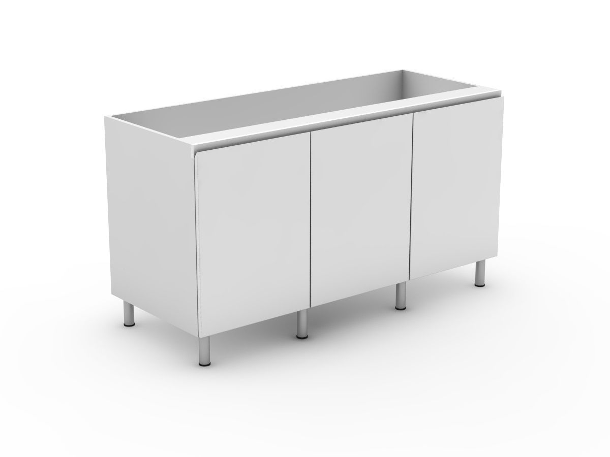 SHADOWLINE - 3 DOOR BASE CABINET (B600-3)