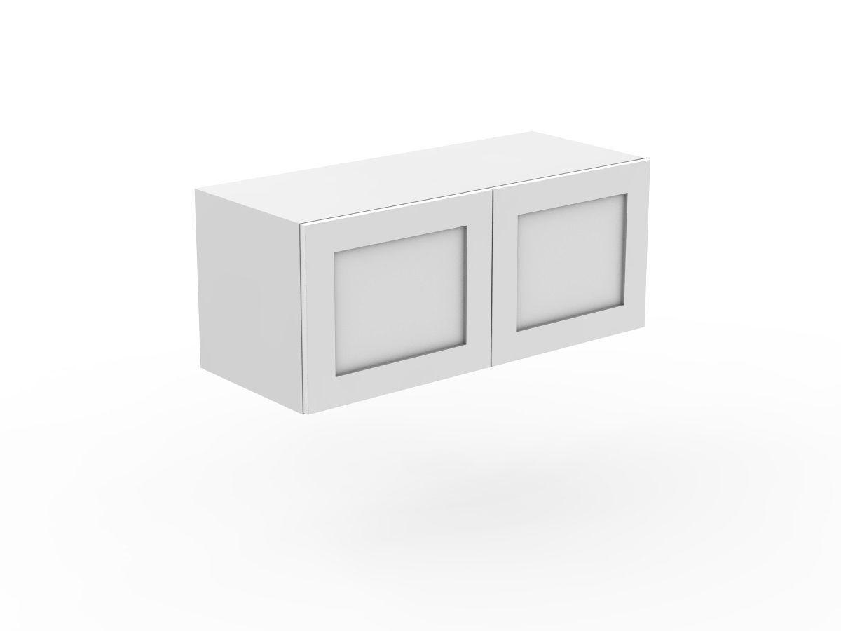 SHAKER - FRIDGE CABINET - 2 DOORS (WF600-2)