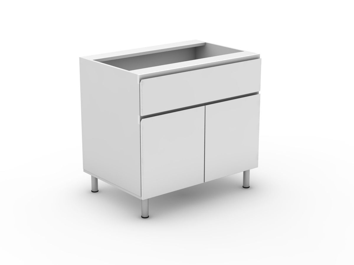 SHADOWLINE - 1 SINK DRAWER + 2 DOORS (B900S-21MB)
