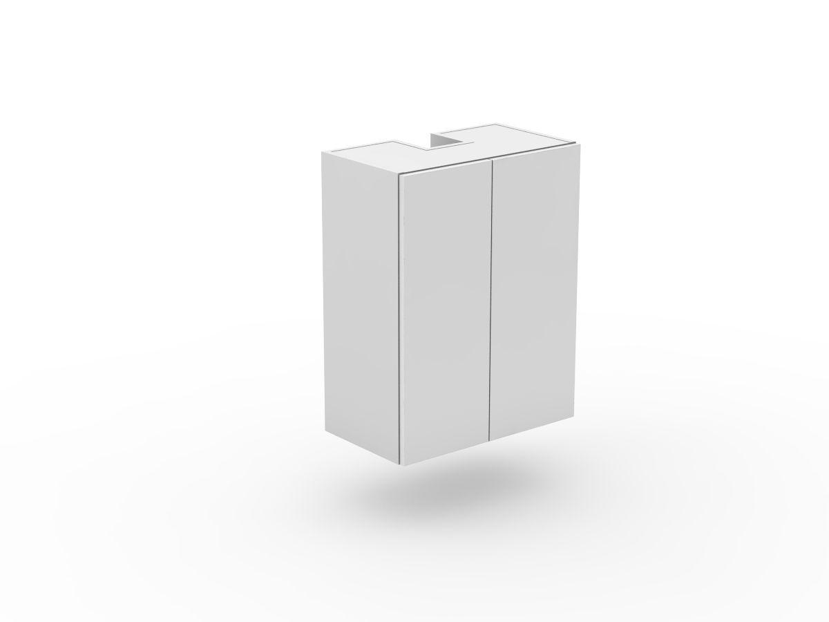 POLY DOORS - SLIDE OUT RANGEHOOD CABINET - 2 DOORS (SLRH600-2)