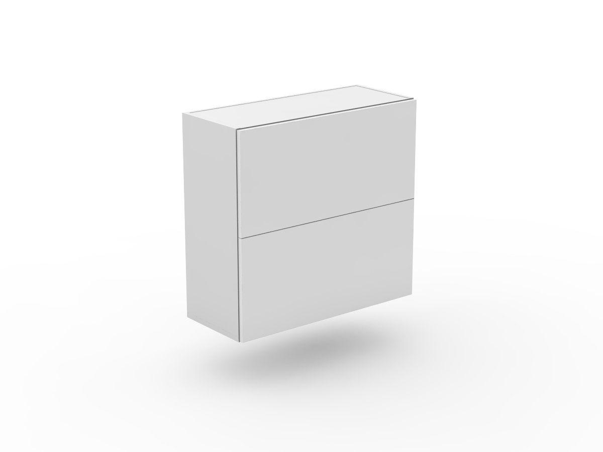 POLY DOORS - 2 FLIP UP DOORS - GAS LIFT (W400LU-2)