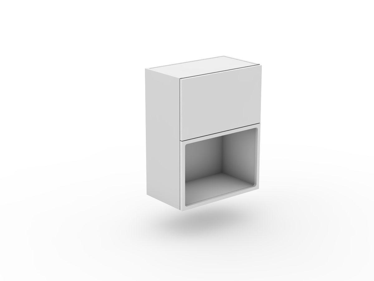 POLY DOORS - MICROWAVE CABINET WITH 1 DOOR (WMW-1)