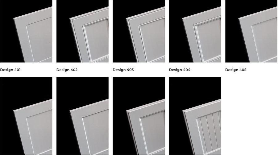 Series 4 - Router MDf doors