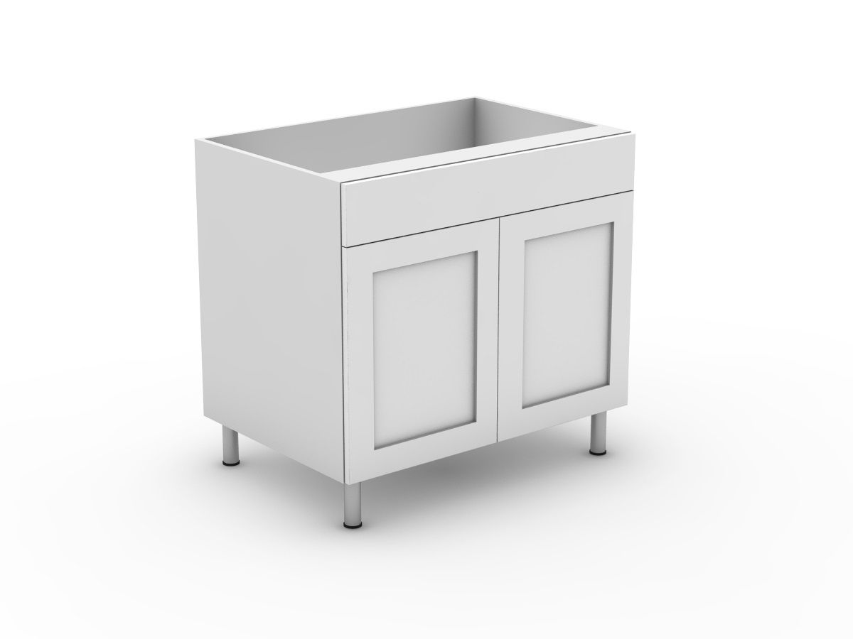 SHAKER - 1 DRAWER + 2 DOORS (B300-21MB)