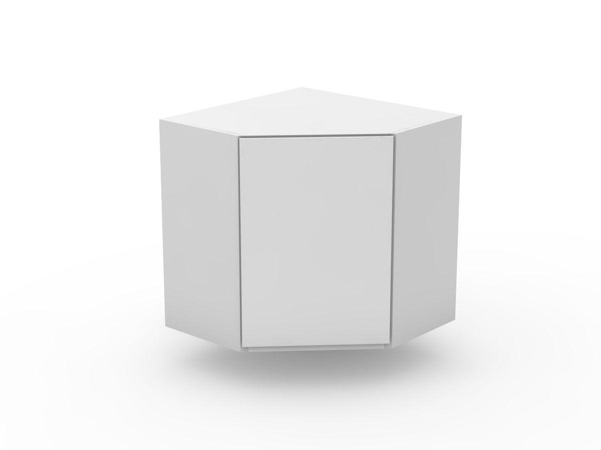 SHADOWLINE - TOP CORNER CABINET - ANGLED DOOR (WCD600-1)