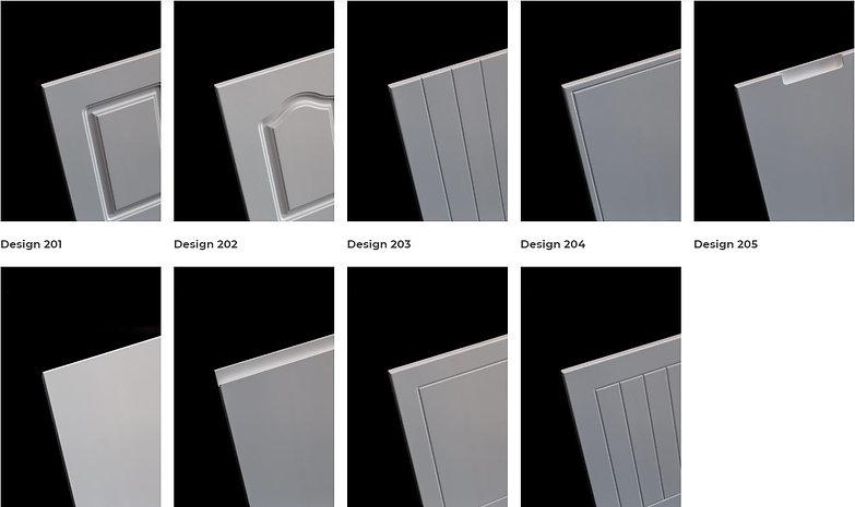 Series 2 - Router MDf doors