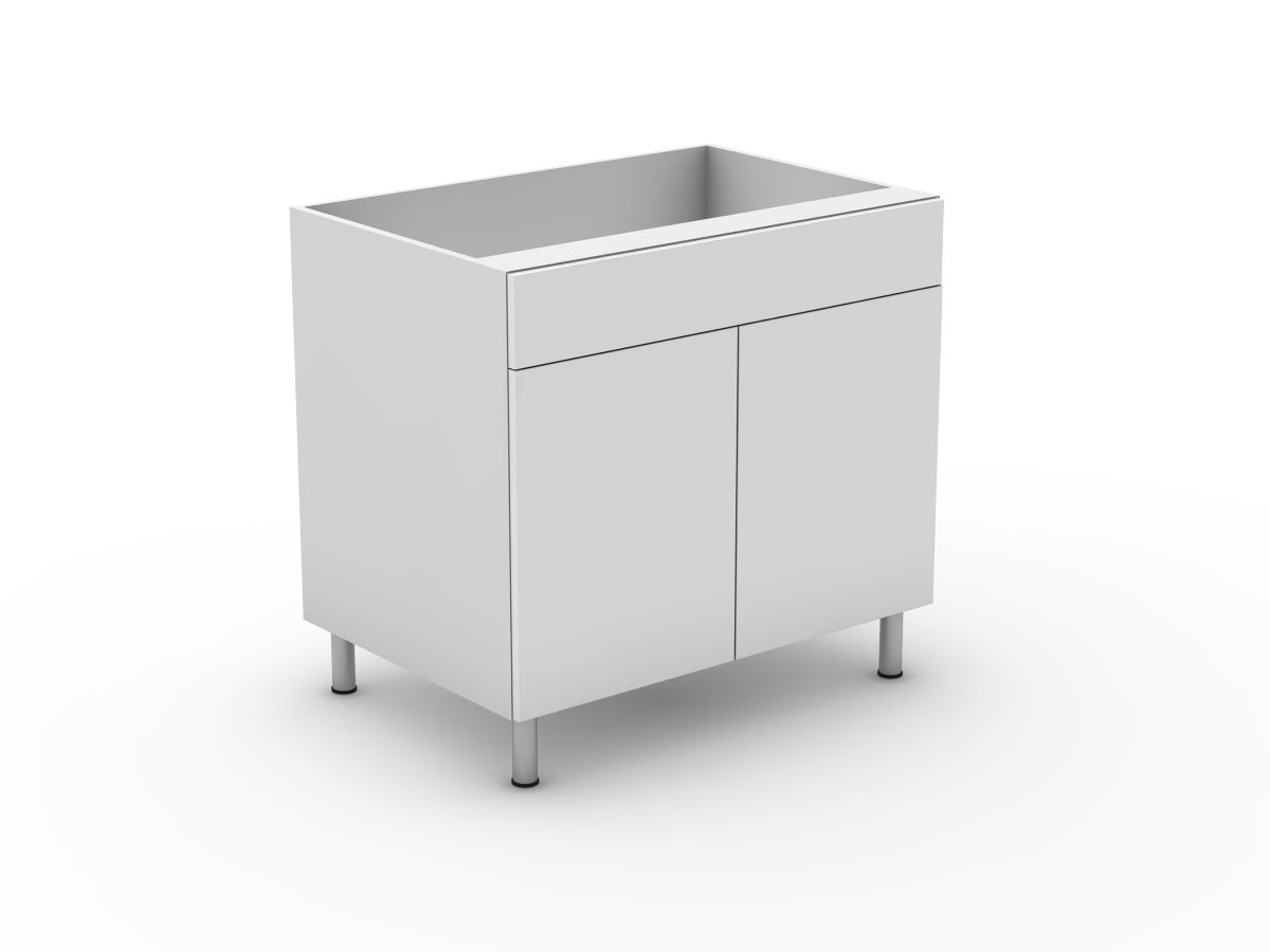 POLY DOORS - 1 DRAWER + 2 DOORS (B300-21MB)
