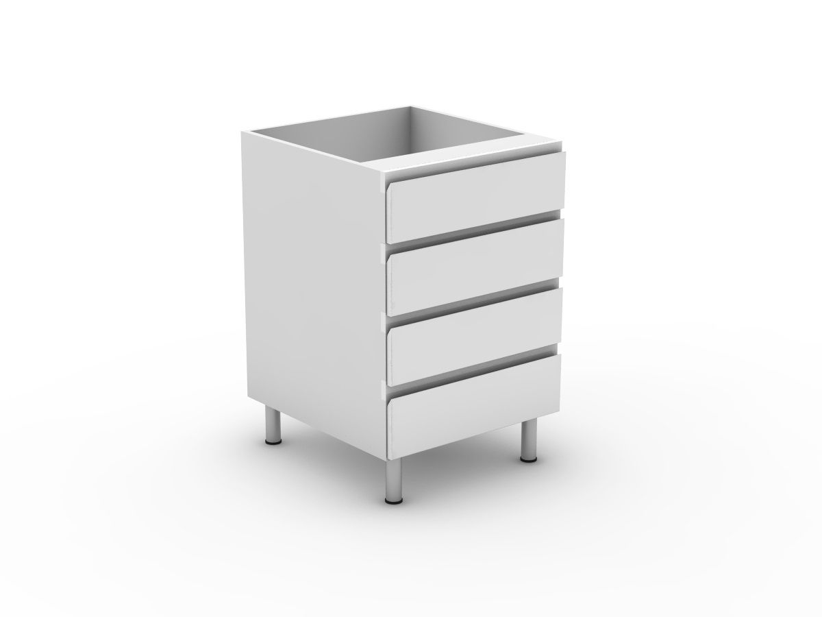 SHADOWLINE - 4 EQUAL DRAWERS (B3004EMB)