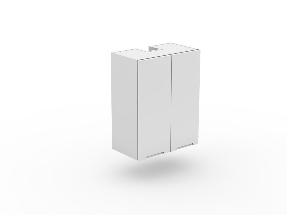 INTEGRATED HANDLE - SLIDE OUT RANGEHOOD CABINET - 2 DOORS (SLRH600-2)