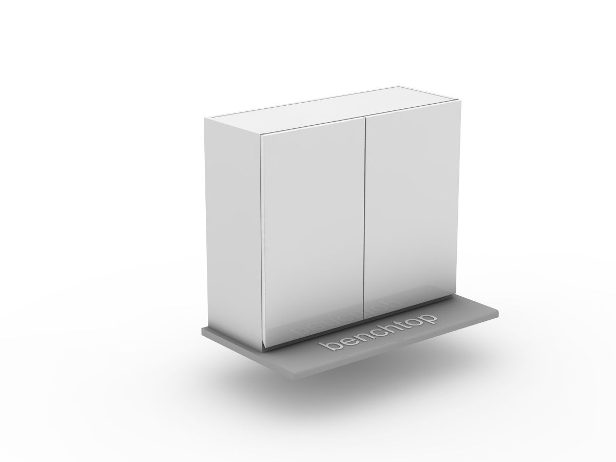 SHADOWLINE - 1 SET BI FOLD - BENCHTOP APPLIANCE CABINET (OB600BF-1)