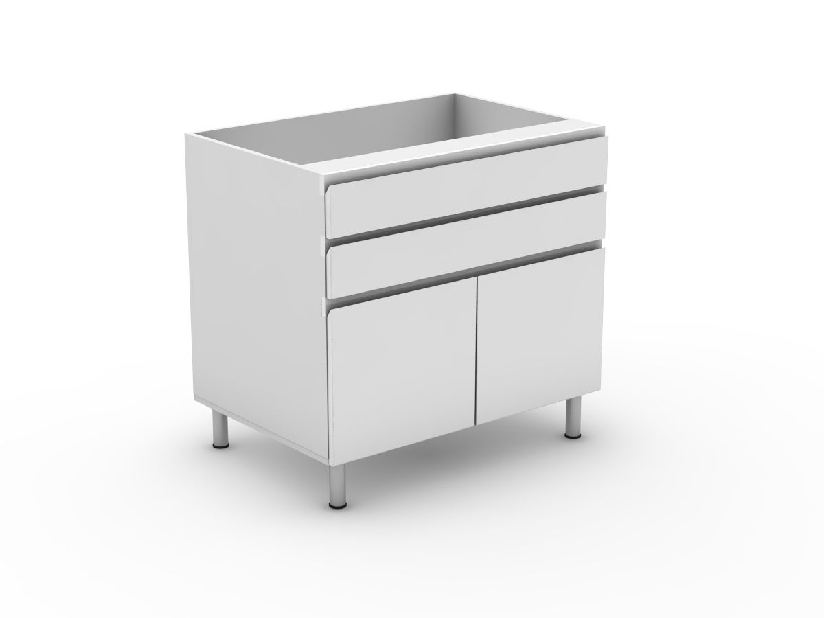 SHADOWLINE - 2 DRAWERS + 2 DOORS (B300-22MB)