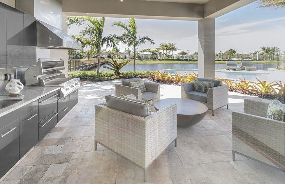 Outdoor Kitchens | Custom Made Waterproof Cabinets