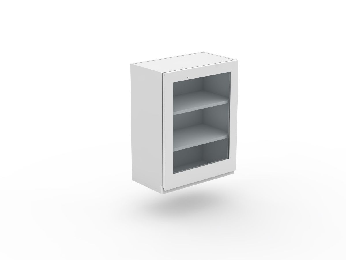 SHADOWLINE - 1 DOOR CABINET - GLASS INSERT (W300-1G)