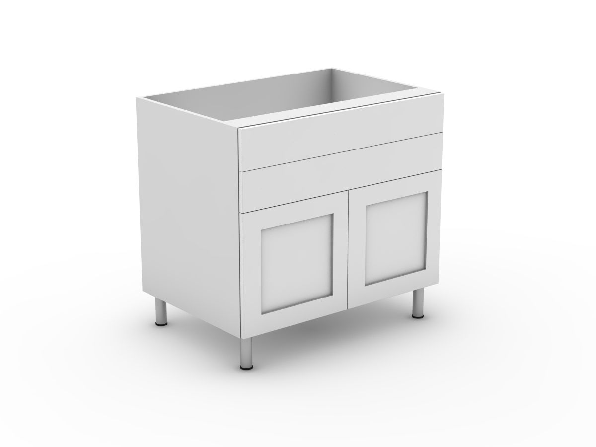 SHAKER - 2 DRAWERS + 2 DOORS (B300-22MB)