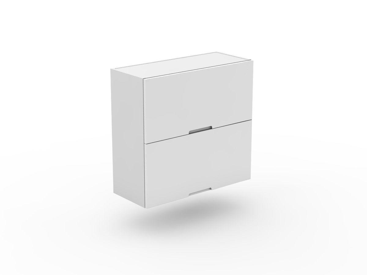 INTEGRATED HANDLE - 2 FLIP UP DOORS - GAS LIFT (W400LU-2)