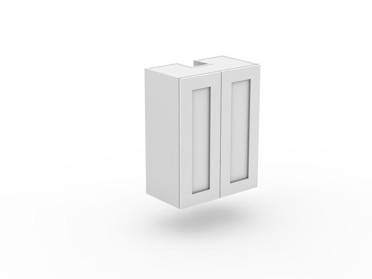 SHAKER - SLIDE OUT RANGEHOOD CABINET - 2 DOORS (SLRH600-2)