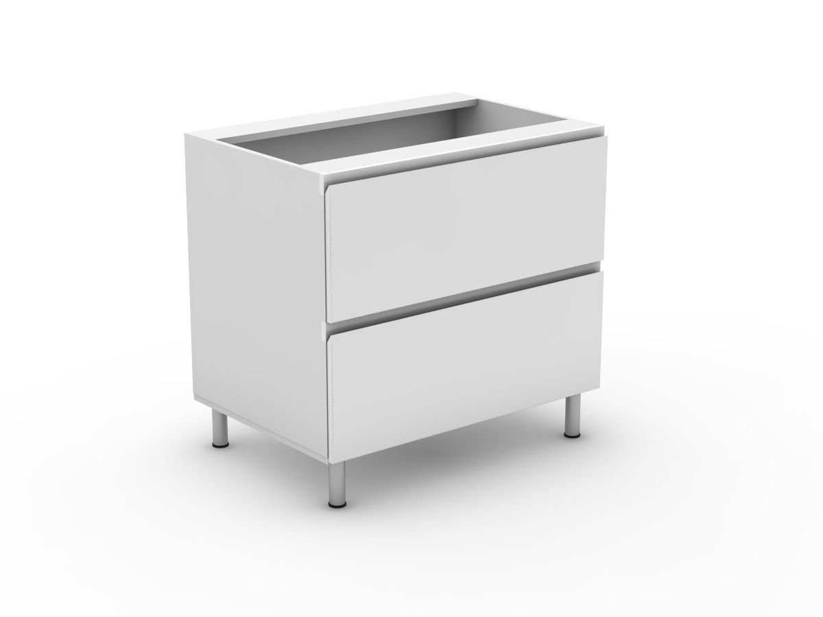SHADOWLINE - 2 SINK DRAWER CABINET (B900S2MB)