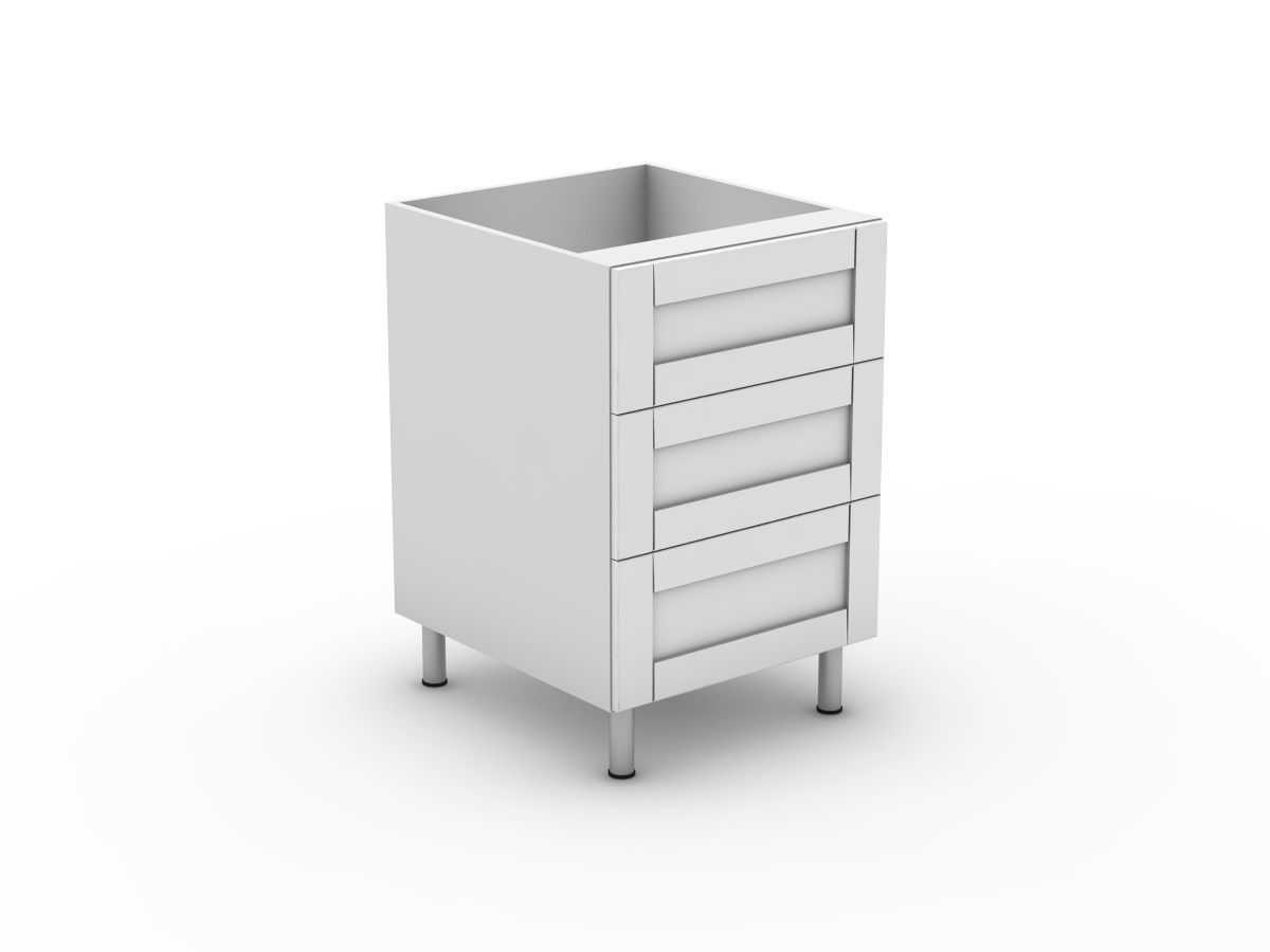 HAMPTION - 3 EQUAL DRAWER (B3003EMB)