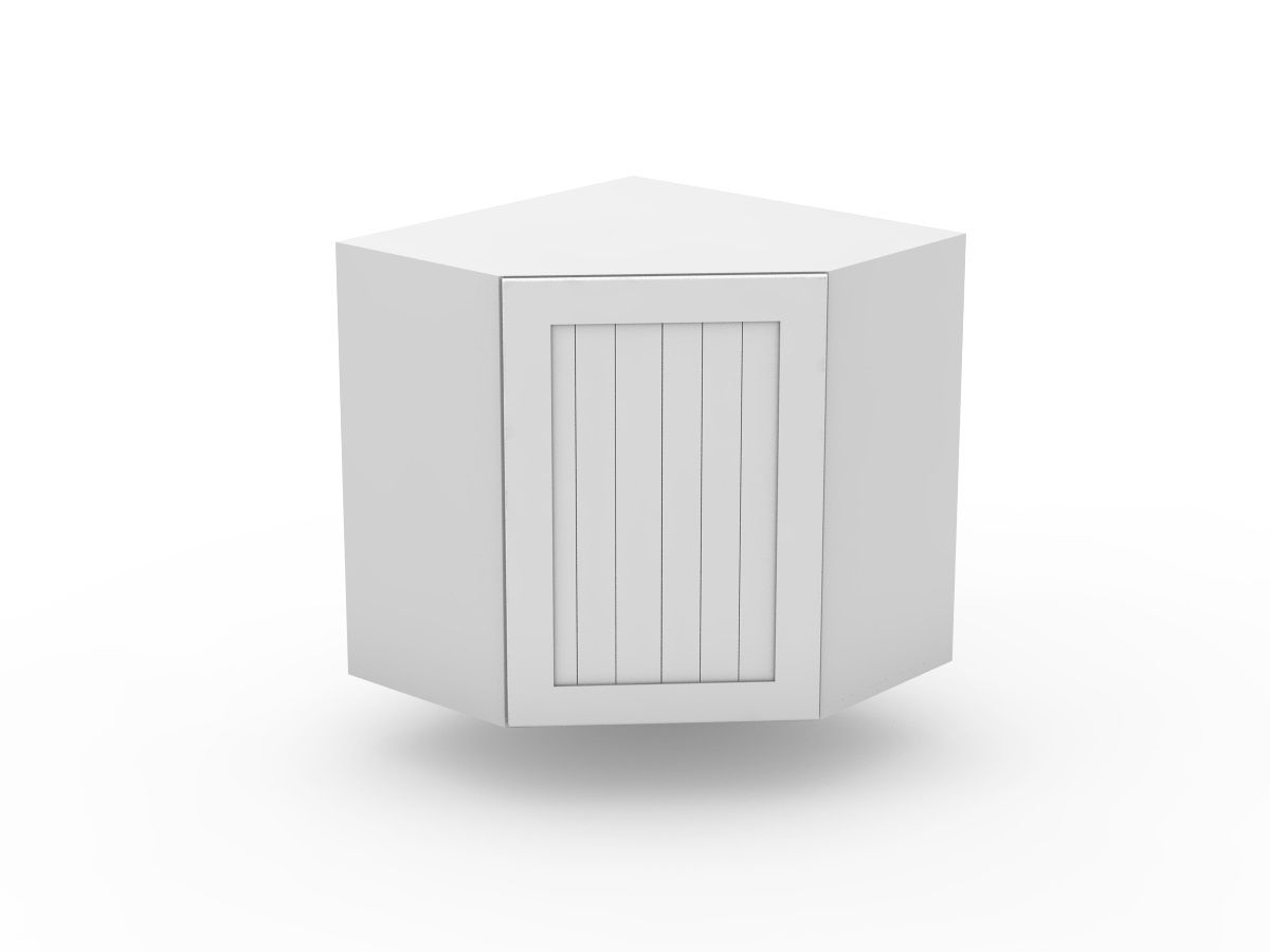 PROVINCIAL - TOP CORNER CABINET - ANGLED DOOR (WCD600-1)