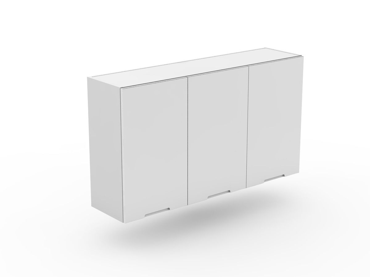 INTEGRATED HANDLE - 3 DOOR TOP CABINET (W800-3)