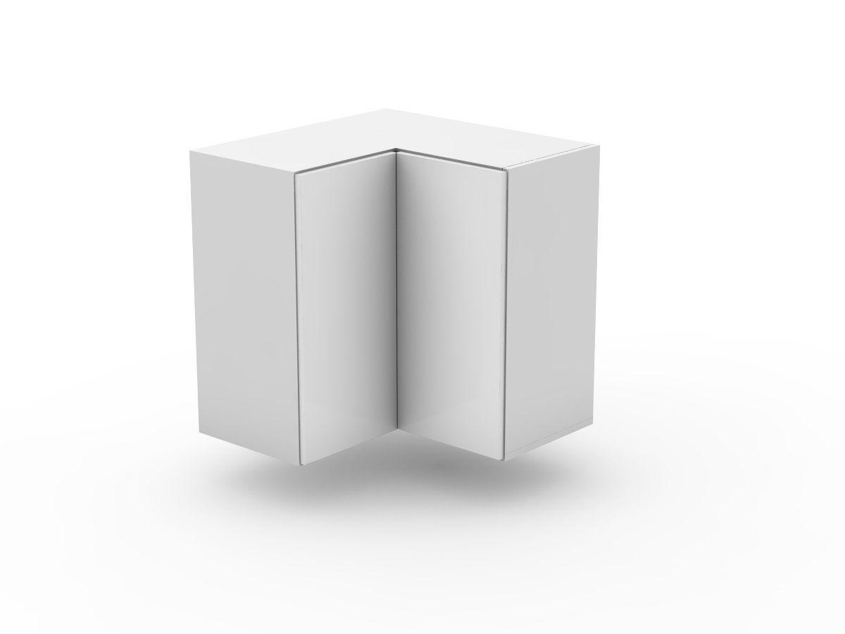 POLY DOORS - TOP CORNER CABINET - BI FOLD (WC600-BF)