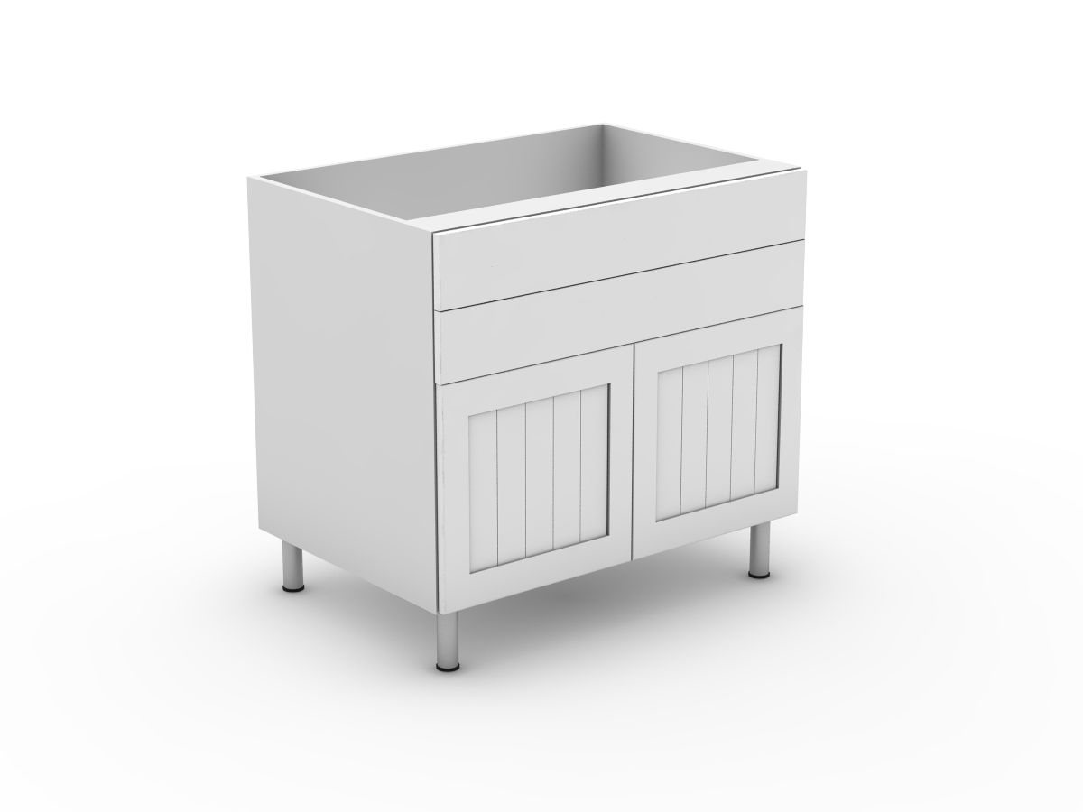 PROVINCIAL - 2 DRAWERS + 2 DOORS (B300-22MB)