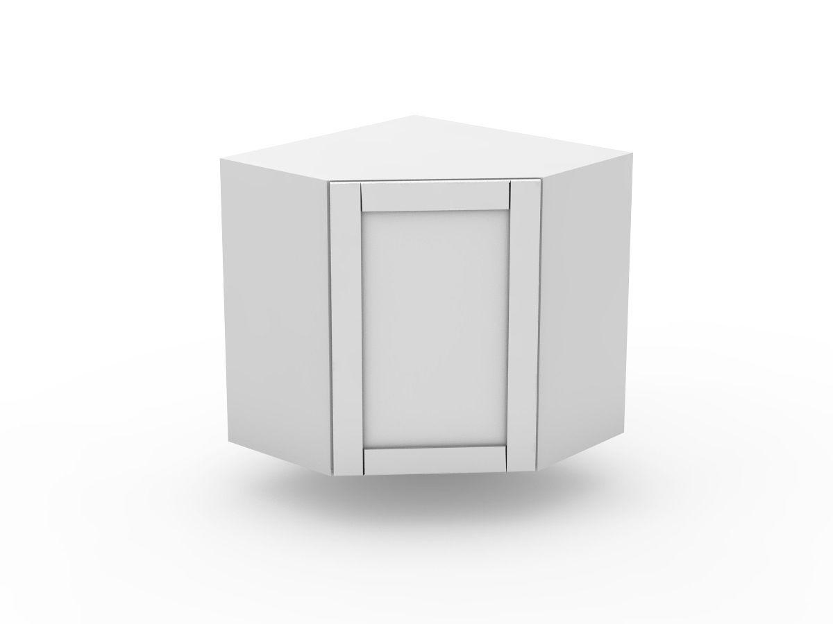 HAMPTION - TOP CORNER CABINET - ANGLED DOOR (WCD600-1)