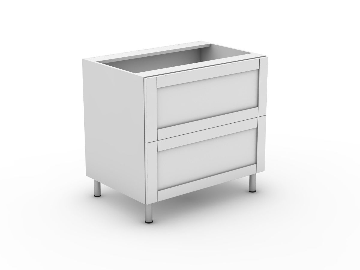 HAMPTION - 2 SINK DRAWER CABINET (B900S2MB)