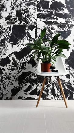 Crazy Panda, ceramic tile