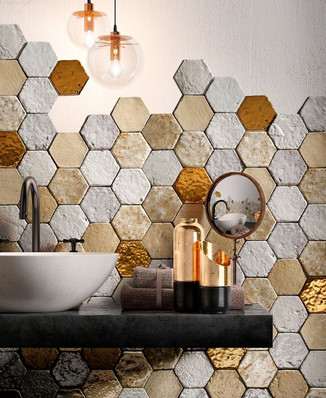 Handmade floor/wall tile