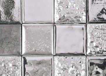 Platinum handmade tile
