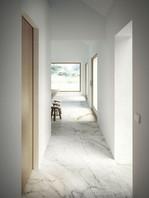 Golden white, ceramic imitation marble