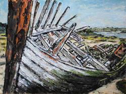 Le cimetière de bateaux 9, étude