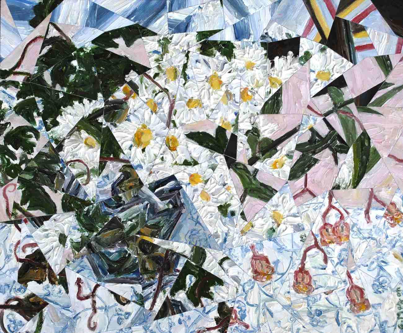 Tamaya, chrysanthèmes et vigne
