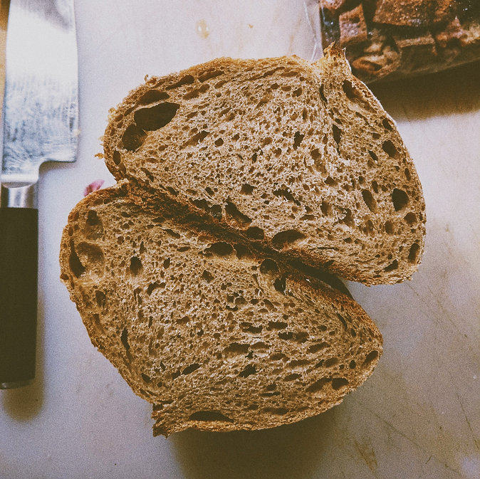 Country Bread Cut