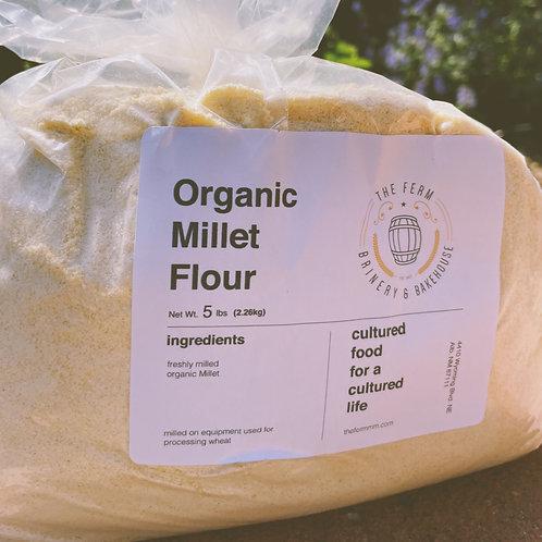 Organic Millet Flour - 5lb