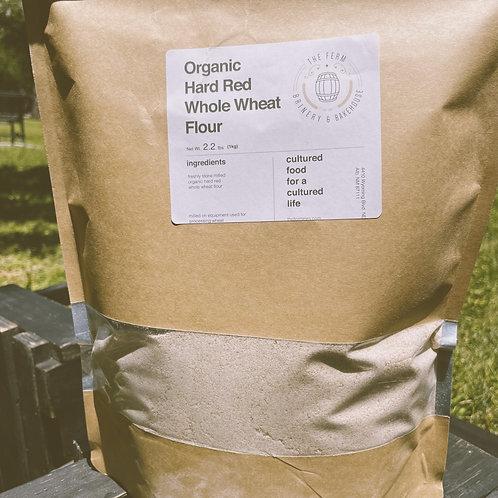 Organic Hard Red Whole Wheat Flour