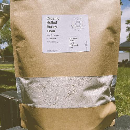 Organic Hulled Barley Flour 1kg