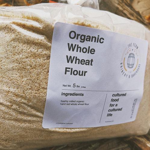 Whole Wheat Flour - 5lb