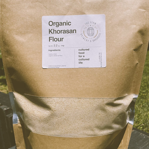 Organic Khorasan Flour