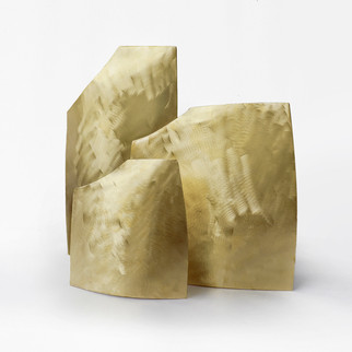 Vaso Quadrado - dourado