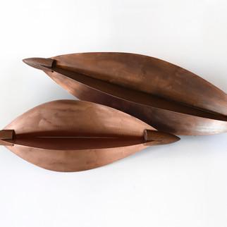 Cacau - cobre velho com madeira