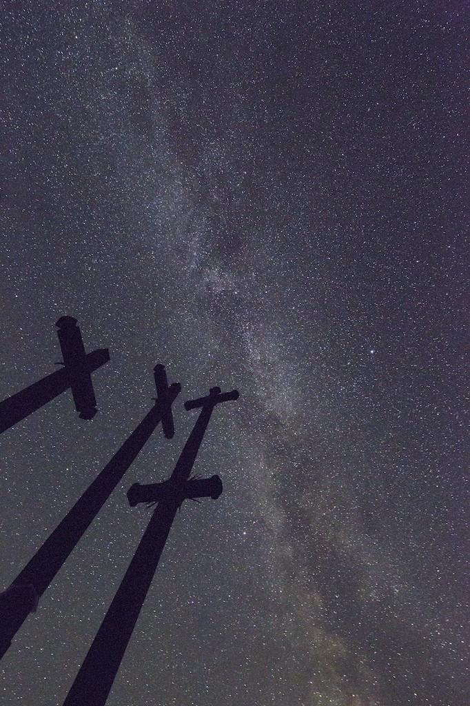 zvaigdzes virs kryziu