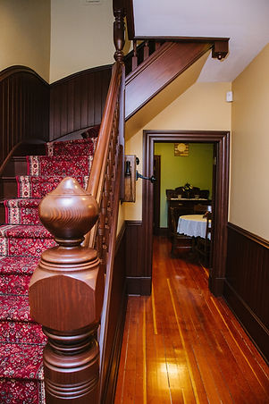 Gabrielle Roy house stairs
