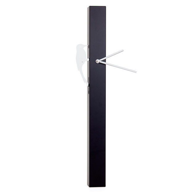 Wood Pecker Clock